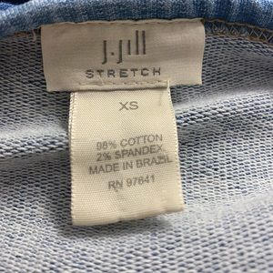 J. Jill Tops - Women's Size XS J Jill Oversized denim Crop Top
